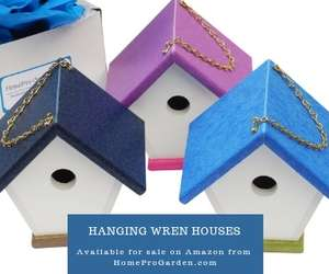 3 wren houses with gift box