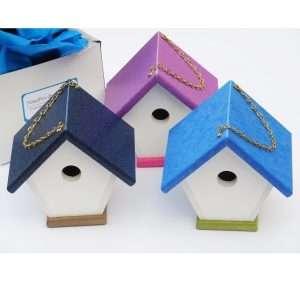 3 wren houses in gift packaging