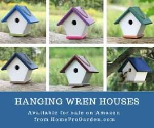 Handcrafted Wren houses for sale